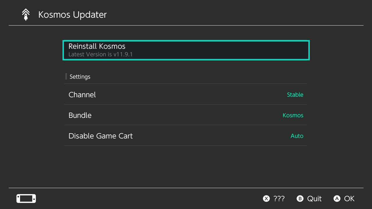 Kosmos Updater 3.0.4